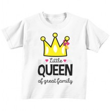 Little queen of greatest family