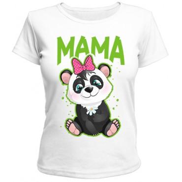 Футболка Панда мама