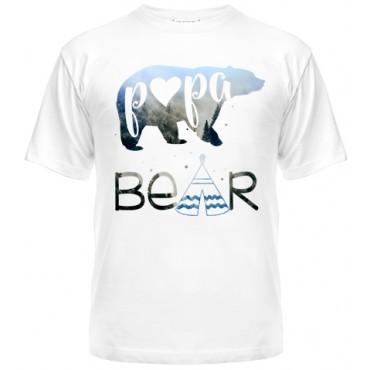 Футболка Papa bear