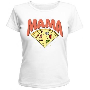 Футболка Пицца мама