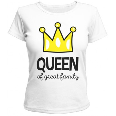 Футболка Queen of greatest family